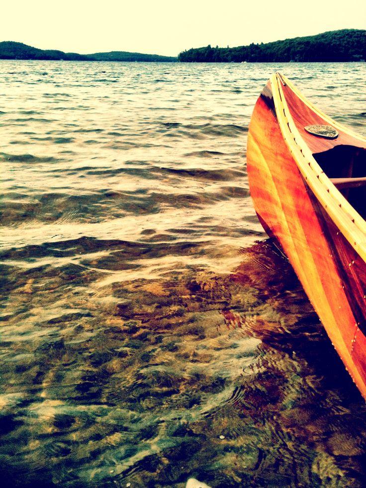 Langford Canoe Red Cedar Heritage  Lake of Bays