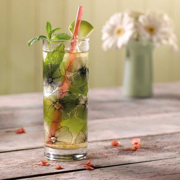 Virgin #cocktail zonder alcohol: Sparkler #WeightWatchers #WWrecept