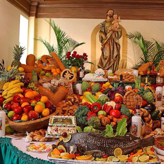 March 19th marks the celebration of St. Joseph's Day. The father of Jesus is the patron saint of Sicily and many Sicilian immigrants settled in New Orleans in the early 1900's. As a result, the Catholic tradition of building altars in honor of the relief that St. Joseph offered during the famines in Italy has become prevalent in New Orleans. This altar, one of many in the city, is located at St. Louis Cathedral School.