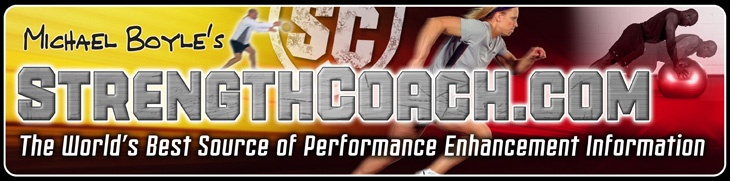 Great website - world's largest strength and conditioning and sports training resource for speed, agility, power and strength enhancement