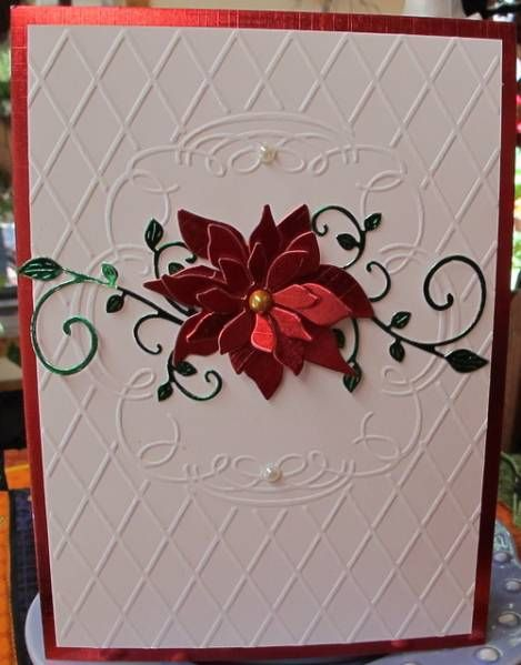 Christmas Poinsettia by Susie B - Cards and Paper Crafts at Splitcoaststampers