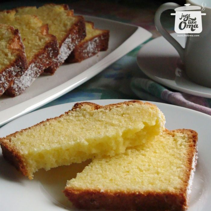 Traditional German Pound Cake: Sandlkuchen So good and so easy. Check out http://www.quick-german-recipes.com/best-pound-cake-recipe.html and make it today! ❤️ Like it! Share it!   Pin it! Make it! Enjoy it!