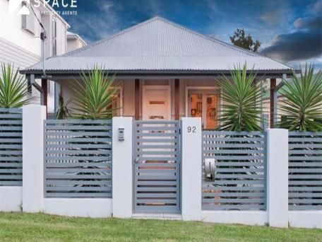Front Fence For The Home Pinterest