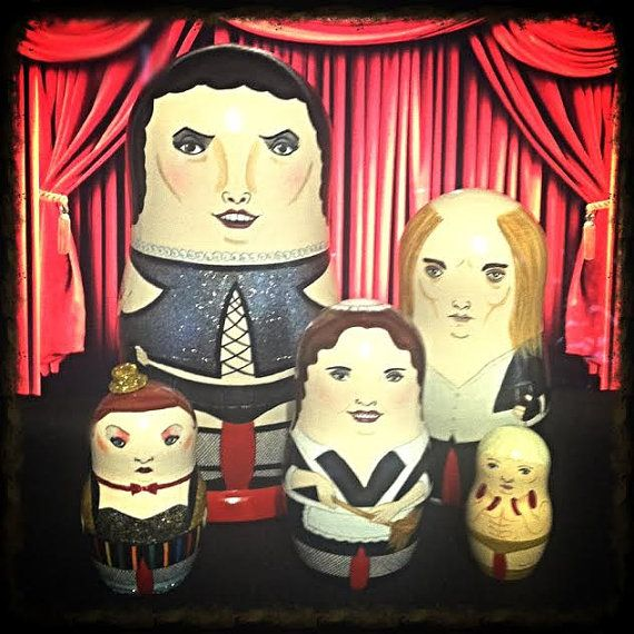 Hey, I found this really awesome Etsy listing at https://www.etsy.com/listing/59980538/the-rocky-horror-picture-show-matryoshka