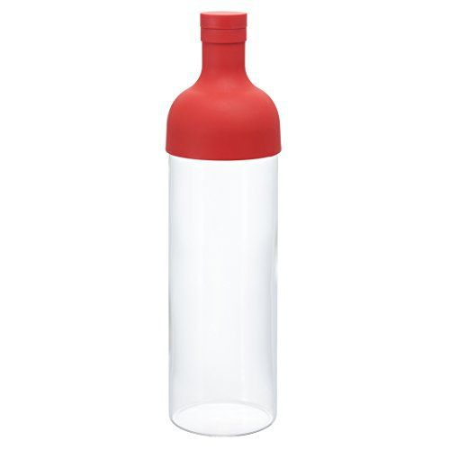 Hario filter bottle 750ml Red FIB-75-R (japan import): 87 x depth 84 x height 300mm width, size: Size: 71mm Weight: 395g Material: spout…