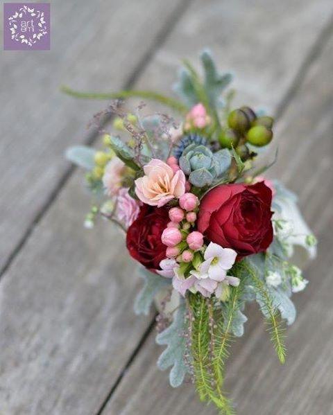 ARTEMI /artemi.com.pl/ dekoracje ślubne, kwiaty do ślubu, bransoletka, biżuteria, bracelet, floral, flowers