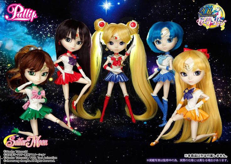Pullip Dolls de Sailor Moon #sailormoon #pullip #dolls