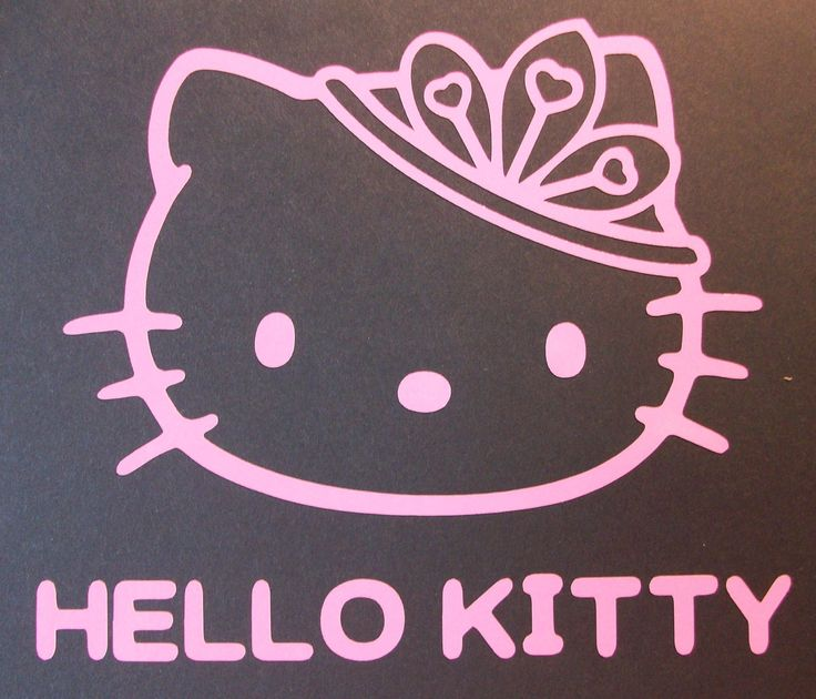 Best Vinyl Decals Images On Pinterest Car Window Decals - Hello kitty custom vinyl decals for car