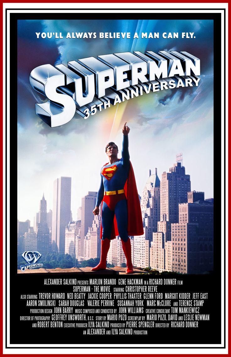 SUPERMAN 1978 POSTER | Superman | Pinterest | The o'jays ...