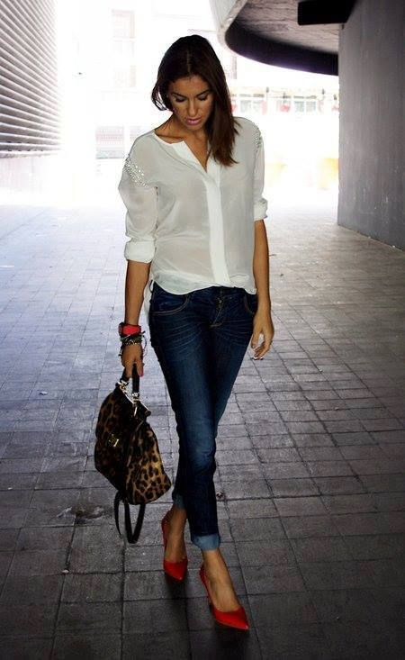17 Best images about White shirt and blue jeans on Pinterest ...