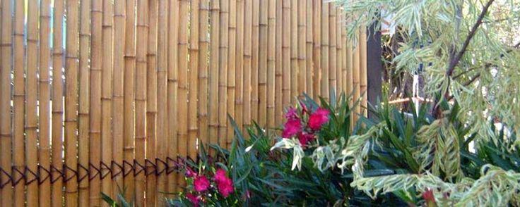 Kokomo Bamboo Screens Jati Bamboo Screens #BamboScreens #BambooFencing #Fencing #Natural
