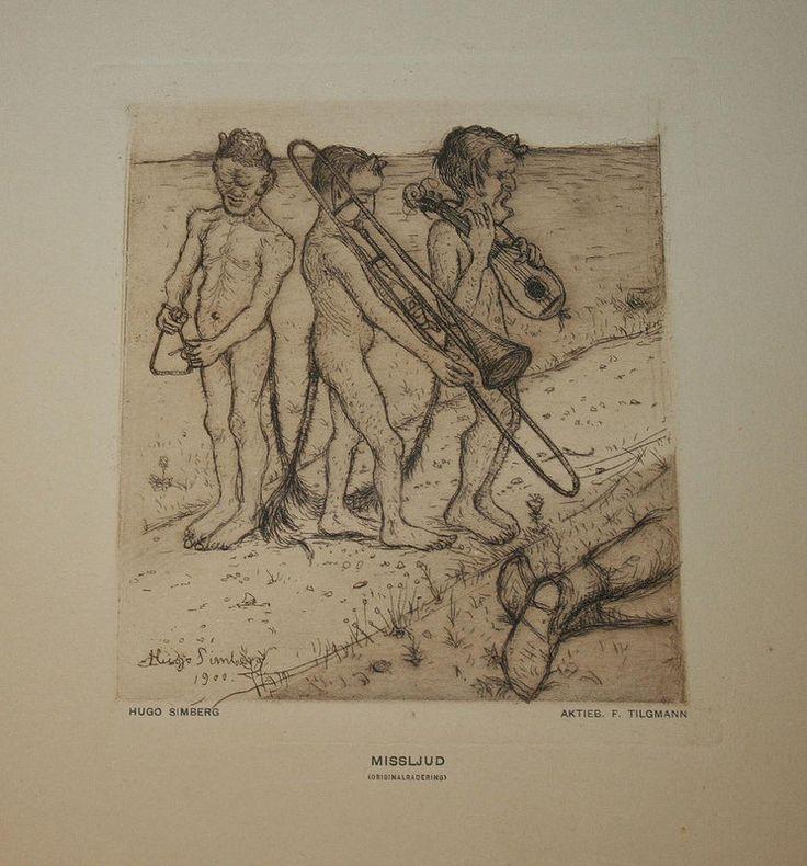 Hugo Simberg - Cacophony, 1900