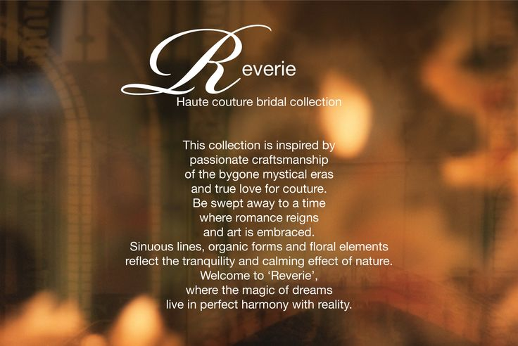 Rosalynn Win Haute Couture Reverie Collection
