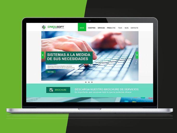 Diseño de Interfaz web para Campusoft Loja Tecnología