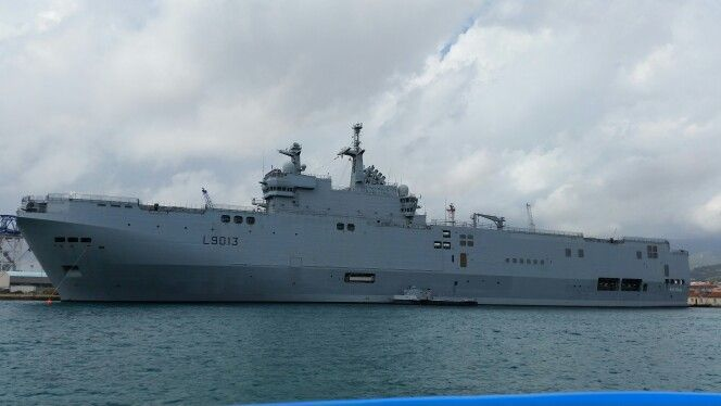 Mistral boat, French Navy, Toulon