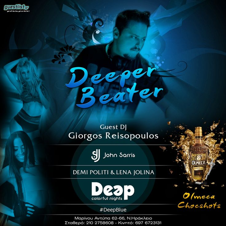#DeeperBeater #DeepBlue #Olmeca