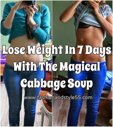 Fashion And Style: Lose Weight In 7 Days With The Magical