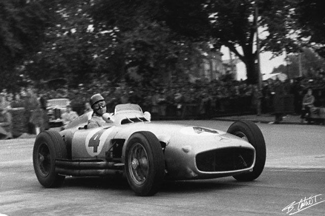 Fanio, Swiss GP 1954 - HIghlights from the Cahier Archieve