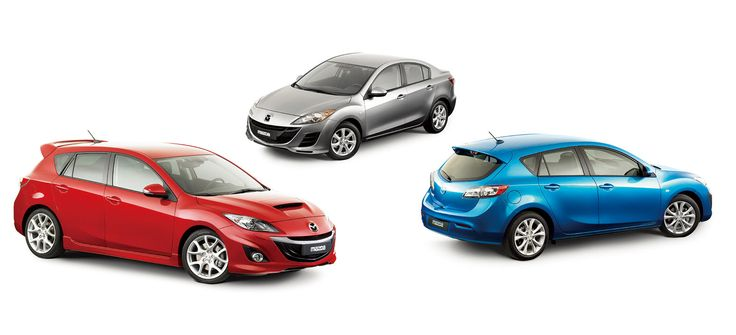 2010 Mazda3 MPS and Mazda3 family