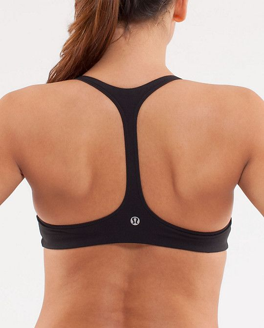 I want this sports bra - I like how the back doesn't have too much fabric. but want it in cotton