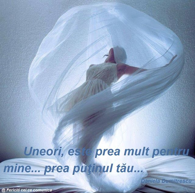 Uneori este prea mult pentru mine, prea putinul tau...  #quotes #relatii  http://danieladumitrescu.blogspot.ro