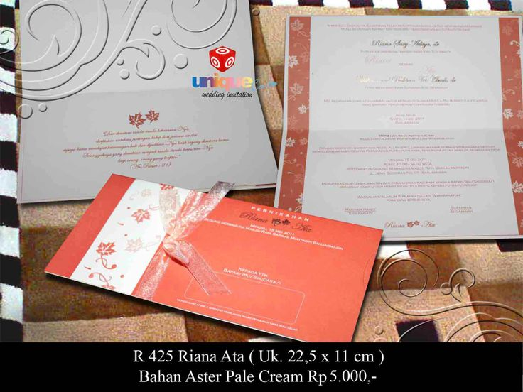 Let's see more unique wedding invitation from uniquecard.co.id | Fast Response » Phone +628975757571 Pin: 2155A409