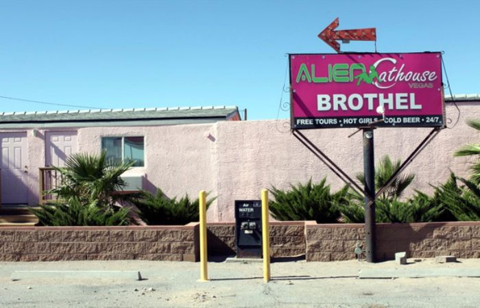 Area 51 Alien Cathouse: A Brothel That Specializes In Extraterrestrial Fantasies