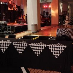 Car Show Reception-THIS SITE AS EVERYTHING FOR RACE THEMED PARTIES, SCRAPBOOKS, JEWELRY, EVERYTHING!!