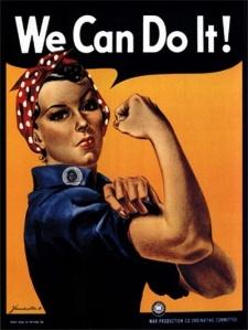 In attitude: Responsible, encouraging, working women.