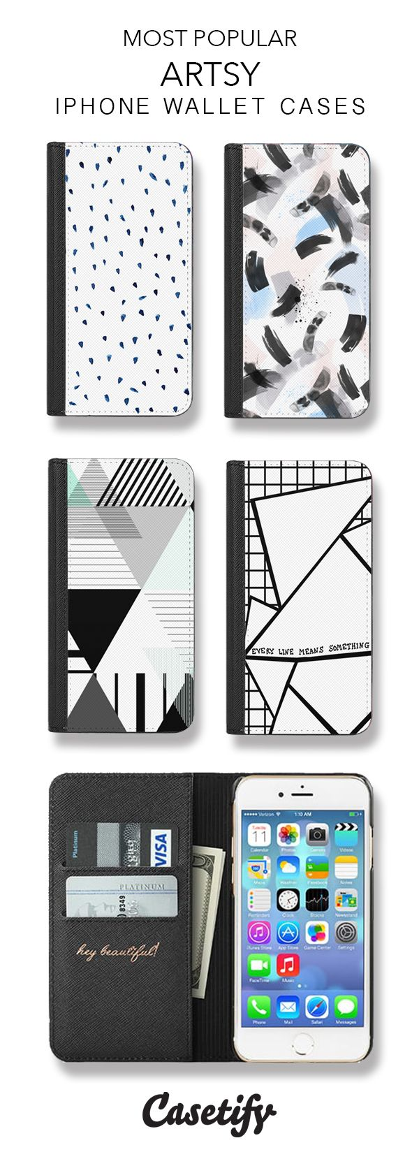 Most Popular Artsy iPhone Wallet Cases here > https://www.casetify.com/en_US/collections/iphone-wallet-cases#/