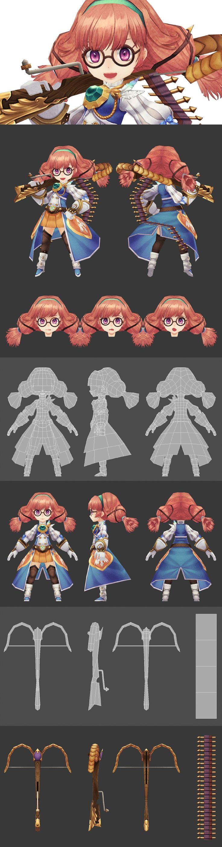 CGNI Student  캐릭터 로우미들과정 - 박진주