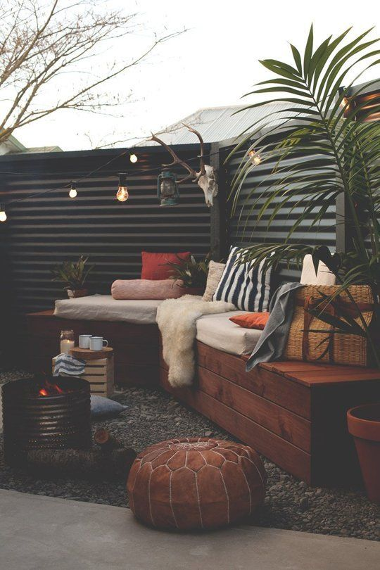 curl up with a coffee and enjoy these cozy, winter-ready outdoor