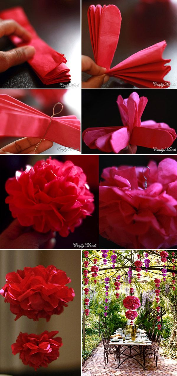 these are awesum and so pretty. how to make pom poms