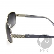 FERI Vienna - Silver Gray - Manufactured in Italy - $640.00 #sunglasses #shades
