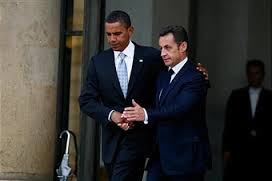 In 2008 Liberal French President Nicolas Sarkozy tries to influence U.S. Presidential election by meeting with an Illinois Senator.