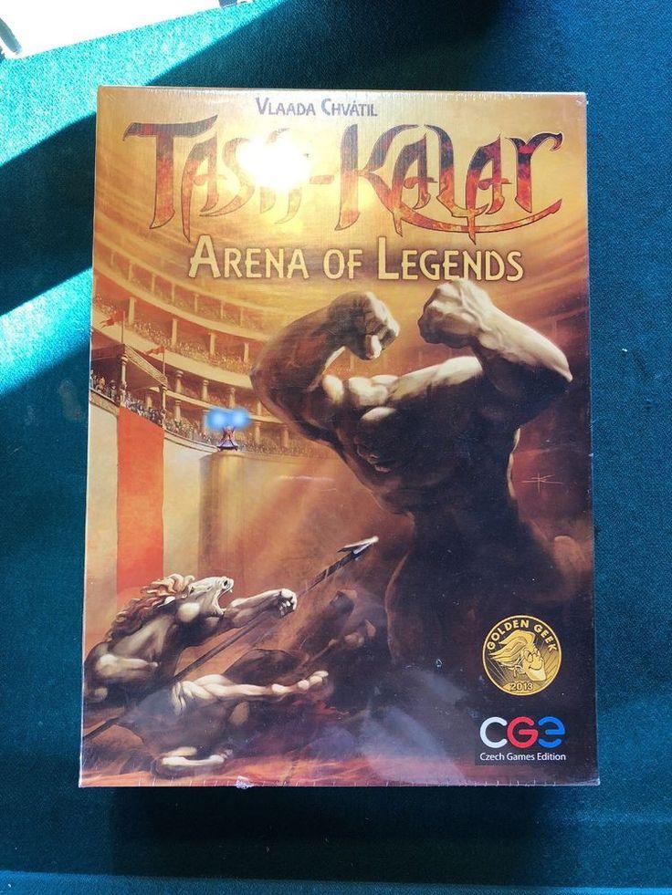 Tash-Kalar: Arena of Legends Game Board Games, New CGE 00023  | eBay