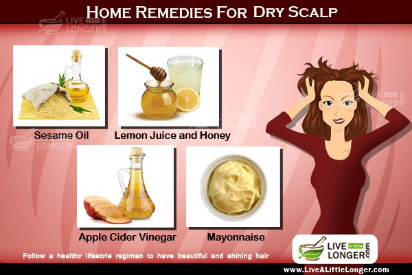 Get Rid Off Dry Scalp Problems With Home Remedies For starters