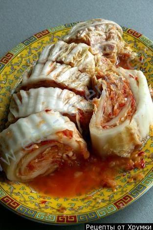 Рецепт Капуста по корейски на зиму с фото