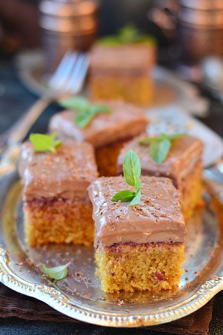 Кофейные пирожные из кукурузной муки