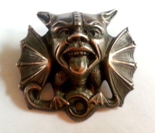 RARE-Antique-Signed-Henrik-Moller-Trondheim-830-Silver-Dragestil-Norse-Brooch