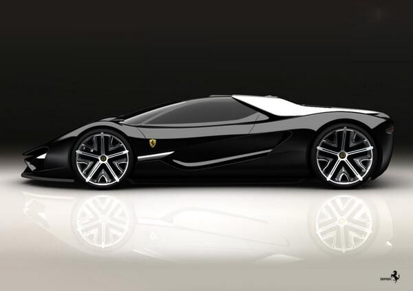 Ferrari. Beyond the exterior beauty lies a hand-crafted marvel & mastery of human ingenuity! That is why I love #ferrari