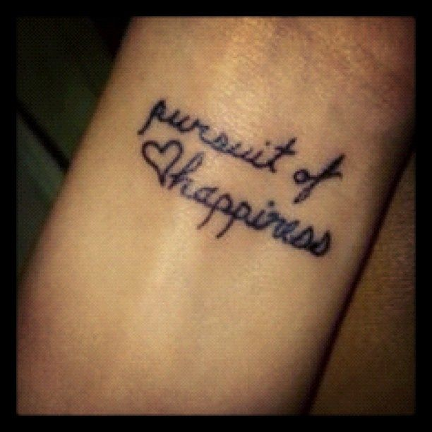 44 Best Happiness Tattoos Images On Pinterest