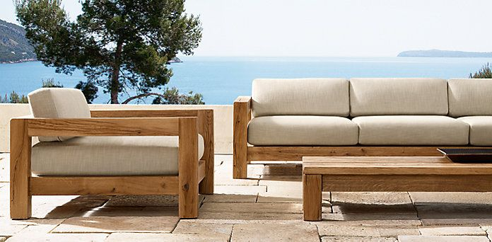 Restoration hardware teak outdoor furniture for Restoration hardware teak outdoor furniture
