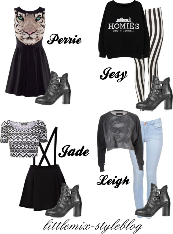 """*REQUESTED* LM Inspired ft. Topshop Physic Boots"" by little-mix-fashion ❤ liked on Polyvore"