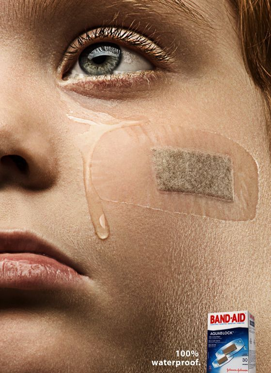 Waterproof. #creative #ads