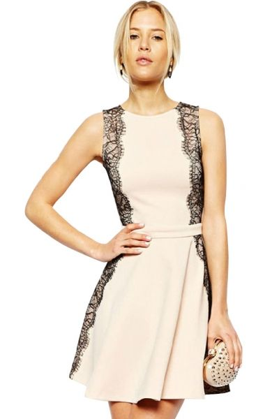 eyelash-lace-applique-ivory-mini-dress