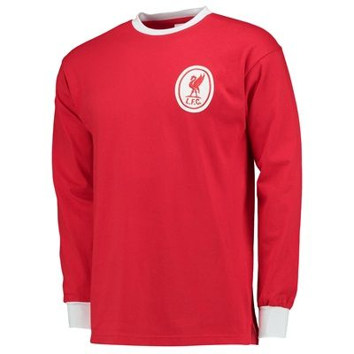 n/a Liverpool 1964 LS shirt LIVER64HLS Liverpool 1964 LS shirtLiverpool Captain Ron Yeats holds the Football League Championship trophy. Liverpool™s 1963-64 Championship title was confirmed with a 5-0 home win against Arsenal in front of  http://www.MightGet.com/february-2017-2/n-a-liverpool-1964-ls-shirt-liver64hls.asp
