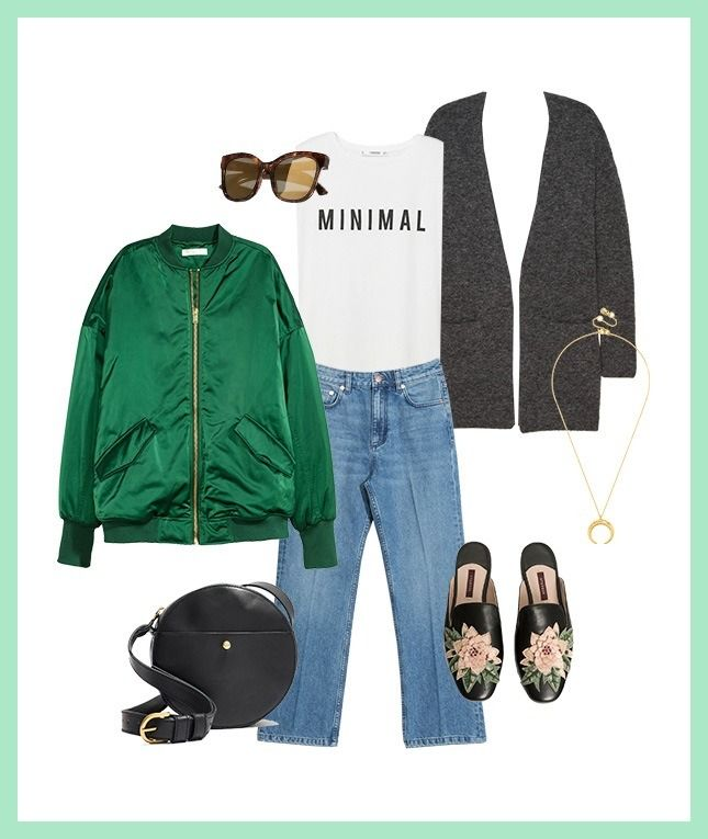 Bookmark this for street style inspiration on how to wear Pantone's Greenery color three ways.