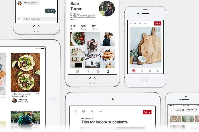 AppsUser: Pinterest mejora el diseño y rendimiento de su app para iOS