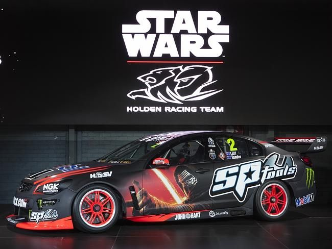 The No. 2 Star Wars: The Force Awakens Holden Commodore.